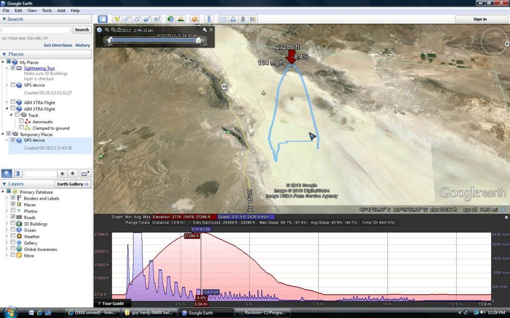 Circus Peanut GPS Track